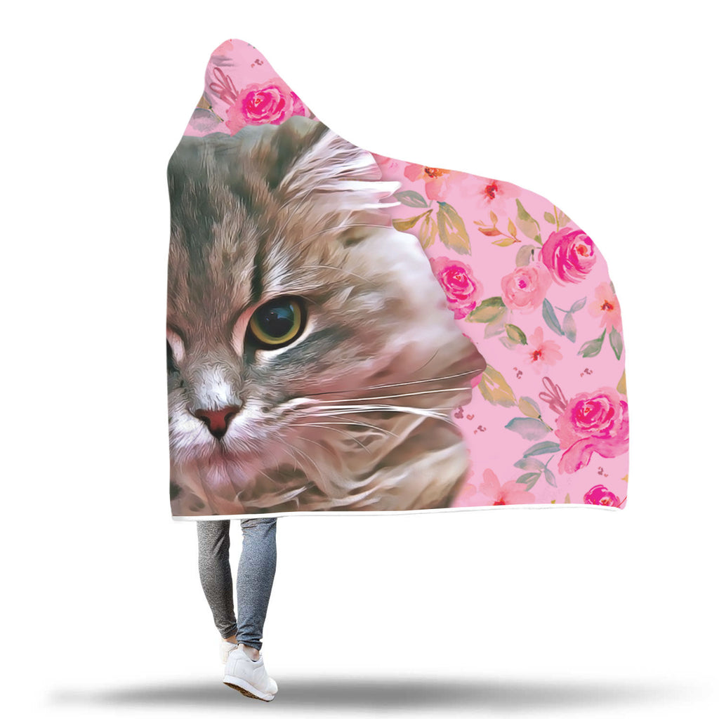 ▶ Custom Pet Hooded Blanket
