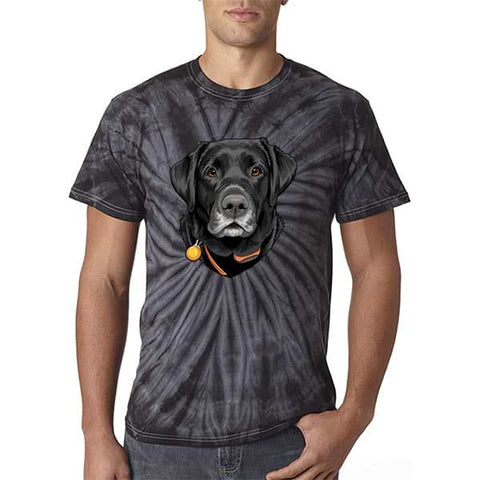 ▶ Unisex Pet Tie Dye T-shirt (Color Art)