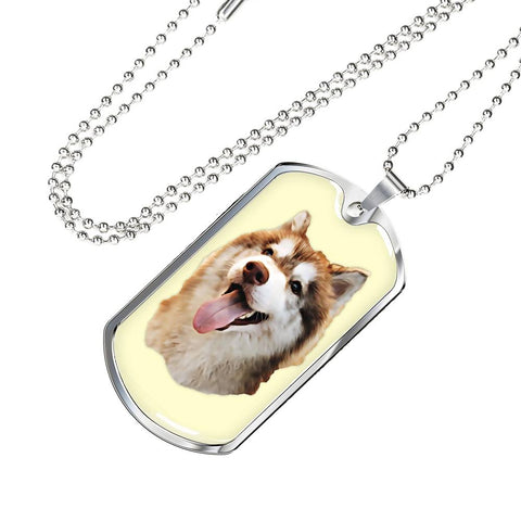 Image of Luxury Dog Tag (Gold or Silver)