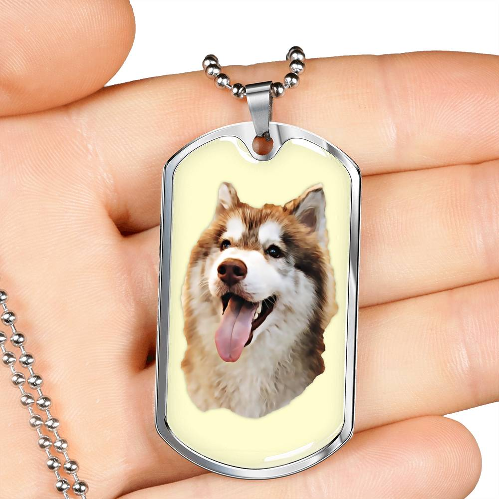 Luxury Dog Tag (Gold or Silver)