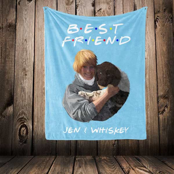 "▶ Best Friends Blanket ""Best Friend"""