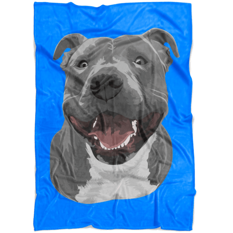 Image of Custom Pet Fleece Blanket (Special Offer)
