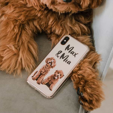 ▶ Custom Pet Phone Case