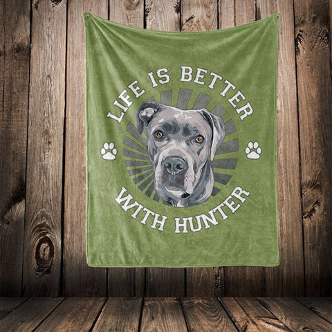 "▶ Best Friends Blanket ""Life Is Better With"""