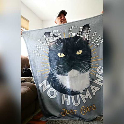 "Image of ▶ Best Friends Blanket ""Hug Club"""