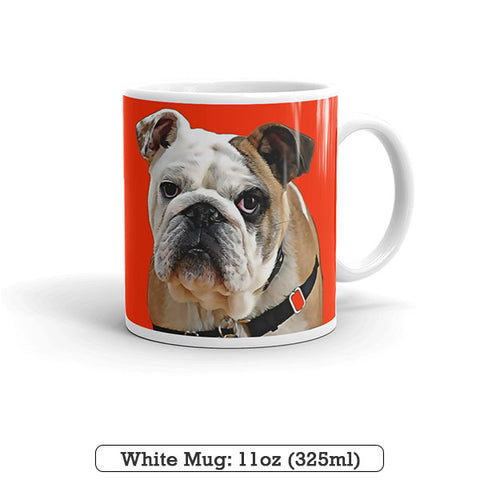 ▶ Custom Pet Coffee Mug