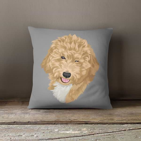 ▶ Custom Pet Pillow (with Cover)