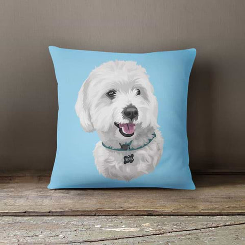 Image of ▶ Custom Pet Pillow (with Cover)