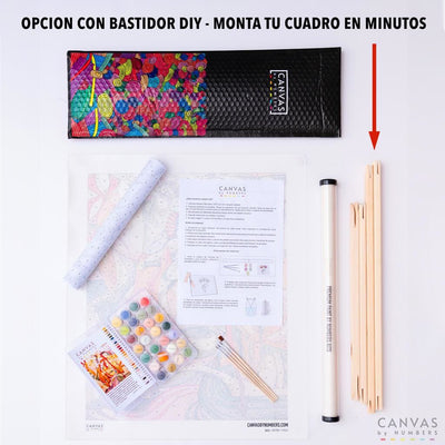 Armonía- Pintar por Números- Canvas by Numbers