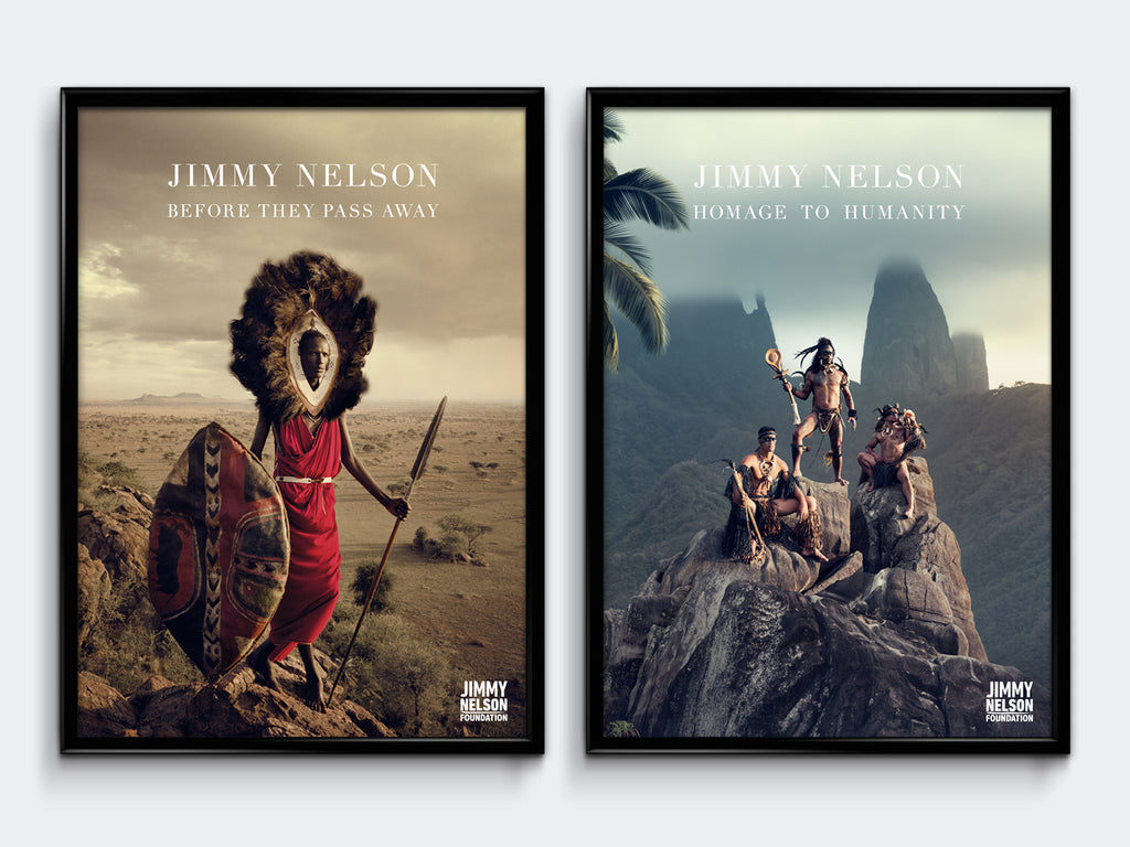 POSTER SET BEFORE THEY PASS AWAY & HOMAGE TO HUMANITY - Jimmy Nelson Shop