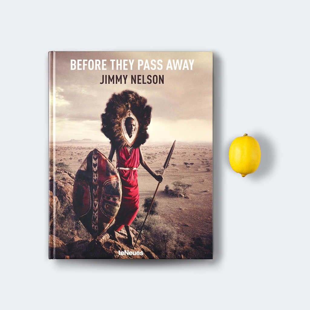 SMALL FORMAT EDITION - BEFORE THEY PASS AWAY - Jimmy Nelson Shop