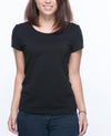Slim fit T-shirt Women in Black / White 5 pack - T-Shirts - BRANMA - BRANMA