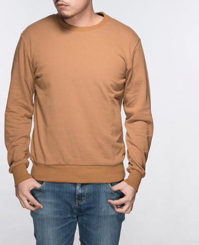 Unisex Basic Sweatshirt in Light Brown 2 pack - Sweater - BRANMA - BRANMA