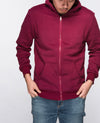 Unisex Basic Hoodies in Maroon - Hoodies - BRANMA - BRANMA