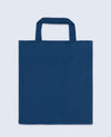 Short Handle Tote bag in Navy - Tote Bag - BRANMA - BRANMA