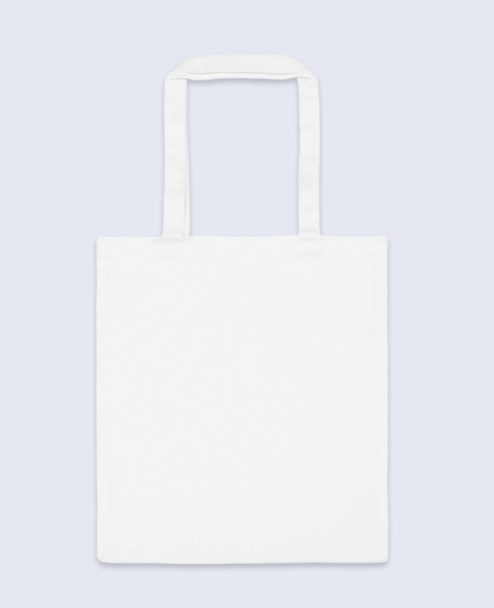 Long Handle Tote bag in White - Tote bags - BRANMA - BRANMA