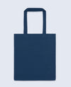 Long Handle Tote bag in Navy - Tote Bag - BRANMA - BRANMA