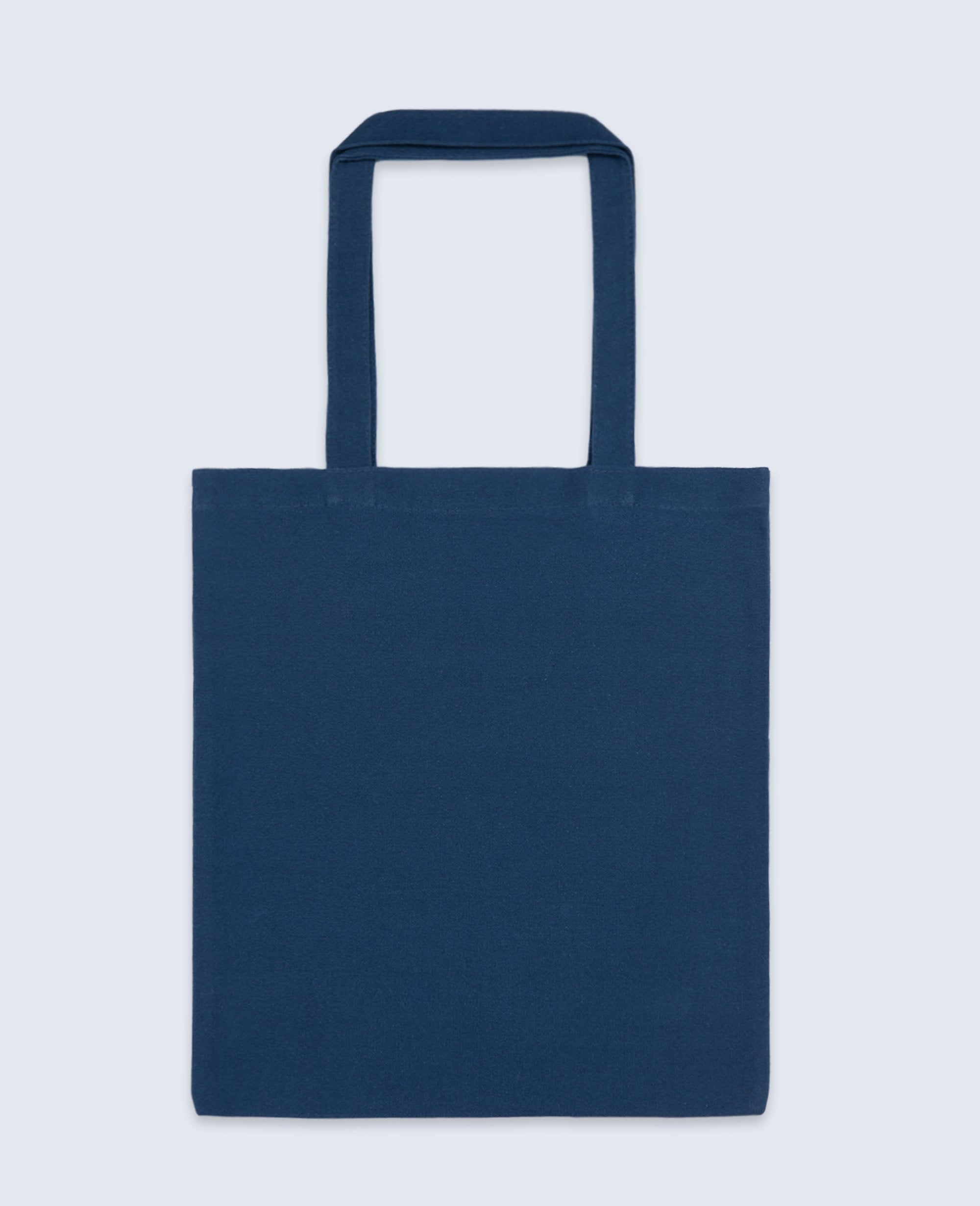 Long Handle Tote bag in Navy - Tote bags - BRANMA - BRANMA