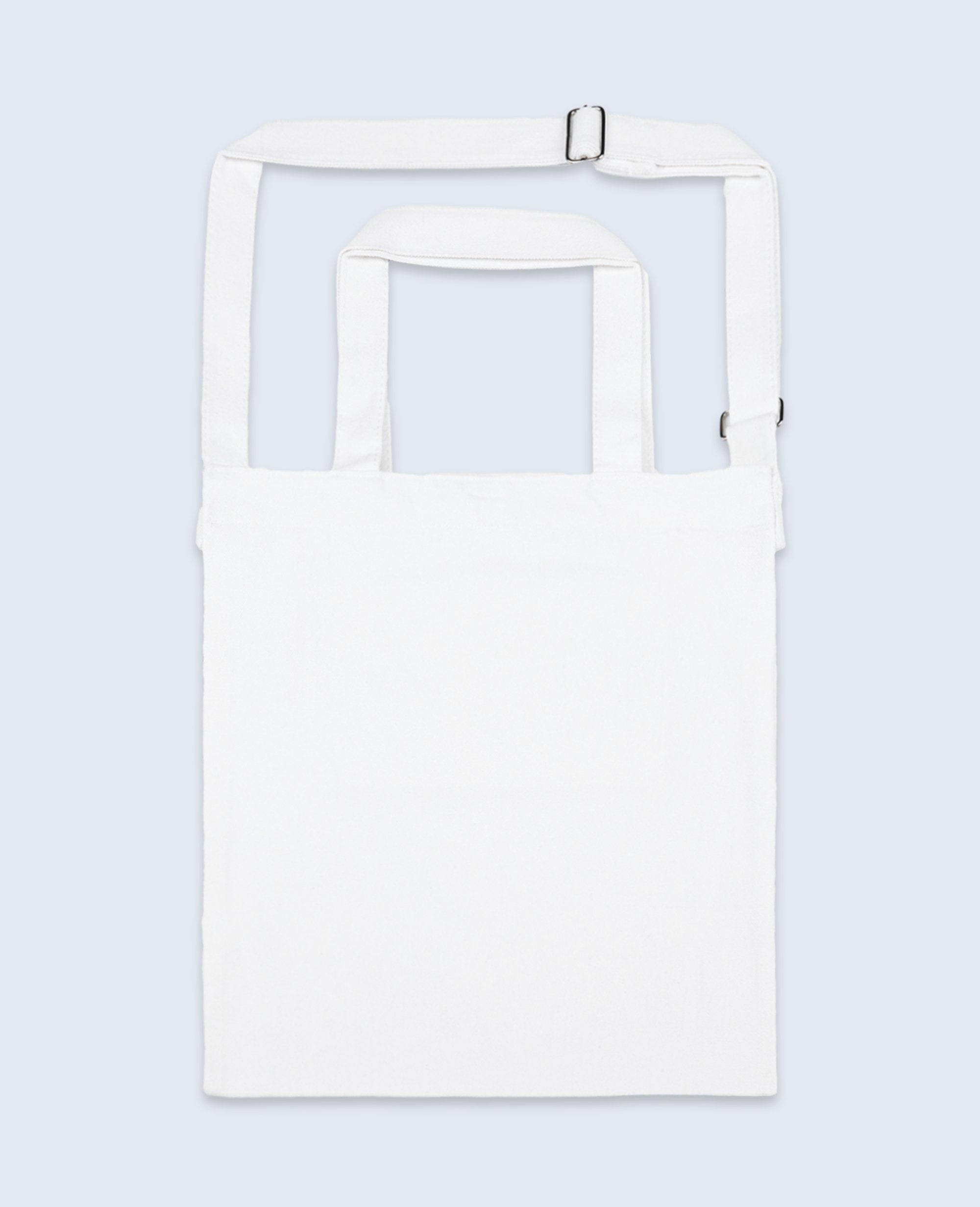 One shoulder Tote bag in White - Tote bags - BRANMA - BRANMA