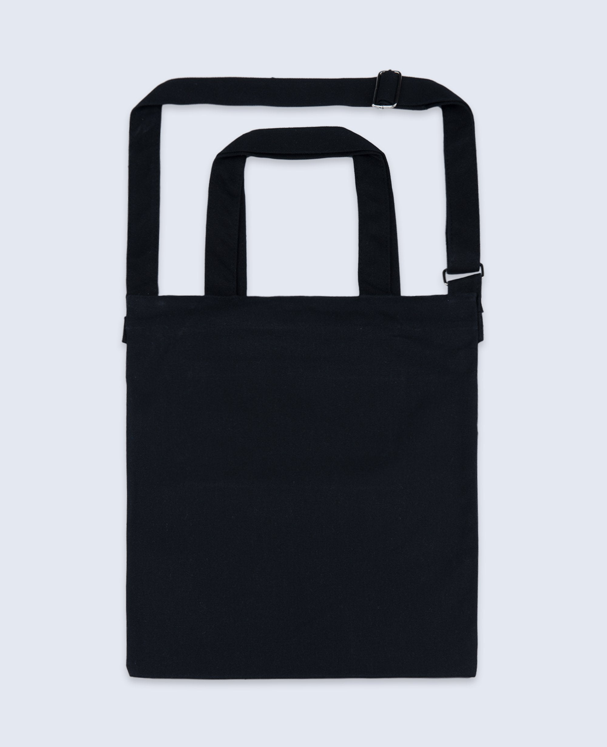 One shoulder Tote bag in Black - Tote bags - BRANMA - BRANMA