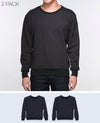 Unisex Basic Sweatshirt in Black 2 pack - Sweater - BRANMA - BRANMA