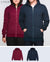 Unisex Basic Hoodies in Navy / Maroon 2 pack