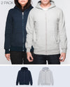 Unisex Basic Hoodies in Navy / Gray 2 pack - Hoodies - BRANMA - BRANMA
