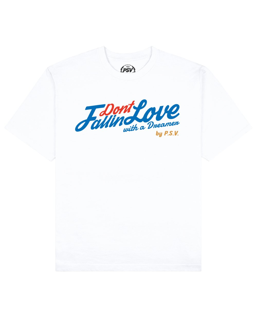 Phrase Quote Print T-Shirt in White - T-Shirts - PSV - BRANMA