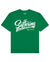 Suffering Builds Character Print T-Shirt in Green