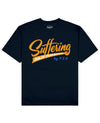 Suffering Builds Character Print T-Shirt in Navy - T-Shirts - PSV - BRANMA