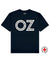Save Oz Print T-Shirt in Navy