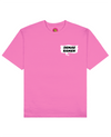 Demae Ramen Print T-Shirt in Pink - T-Shirts - FOOD PORN CLUB - BRANMA