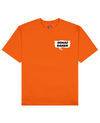 Demae Ramen Print T-Shirt in Orange - T-Shirts - FOOD PORN CLUB - BRANMA