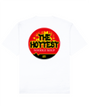 The Hottest Print T-Shirt in White - T-Shirts - FOOD PORN CLUB - BRANMA