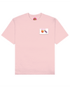 Dirty Emoji Print T-Shirt in Pink - T-Shirts - FOOD PORN CLUB - BRANMA
