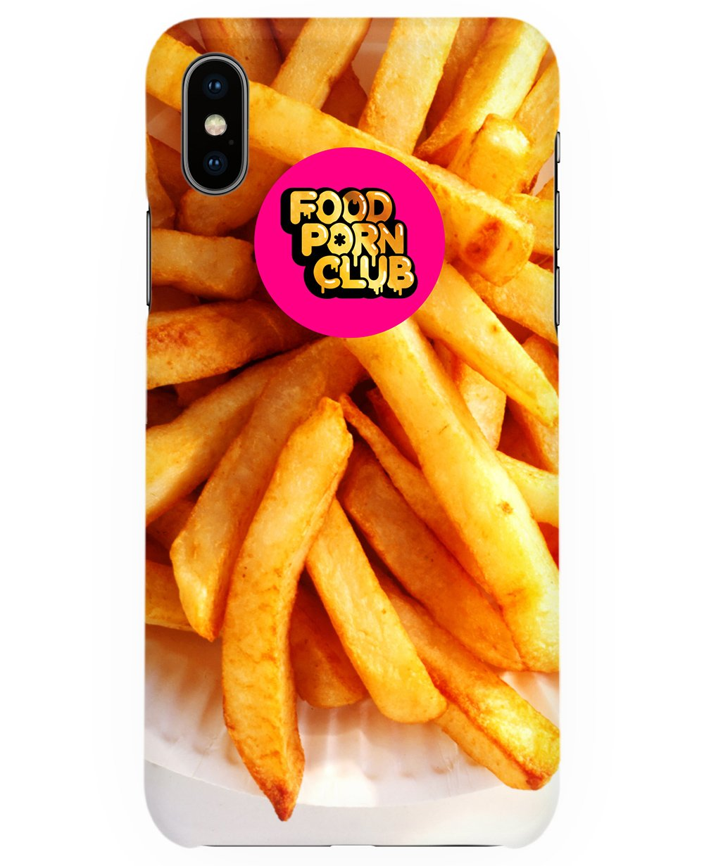 Fries Print Iphone Case - Phone cases - FOOD PORN CLUB - BRANMA