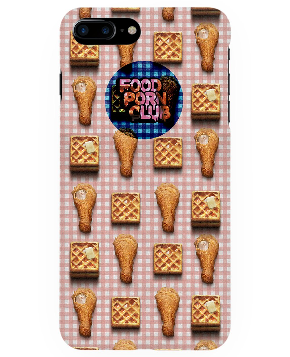 Waffle and Chicken Drumsticks Print Iphone Case - Phone cases - FOOD PORN CLUB - BRANMA