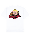 FPC Boo Print T-Shirt in White - T-Shirts - FOOD PORN CLUB - BRANMA