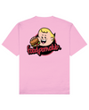 FPC Boo Print T-Shirt in Pink - T-Shirts - FOOD PORN CLUB - BRANMA