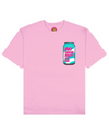 Oh! S.H.I.T. Print T-Shirt in Pink