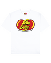 Jelly Your Belly Print T-Shirt in White - T-Shirts - FOOD PORN CLUB - BRANMA