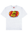 Jelly Your Belly Print T-Shirt in Light Gray - T-Shirts - FOOD PORN CLUB - BRANMA