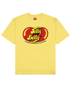 Jelly Your Belly Print T-Shirt in Light Yellow - T-Shirts - FOOD PORN CLUB - BRANMA