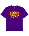 Jelly Your Belly Print T-Shirt in Purple - T-Shirts - FOOD PORN CLUB - BRANMA