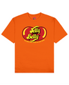 Jelly Your Belly Print T-Shirt in Orange - T-Shirts - FOOD PORN CLUB - BRANMA