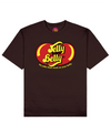 Jelly Your Belly Print T-Shirt in Brown - T-Shirts - FOOD PORN CLUB - BRANMA