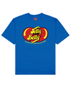 Jelly Your Belly Print T-Shirt in Blue - T-Shirts - FOOD PORN CLUB - BRANMA