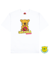 Save Koala Print T-Shirt in White - T-Shirts - FOOD PORN CLUB - BRANMA