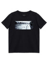 Tired & Alone Print T-Shirt in Black - T-Shirts - INTERMISSION - BRANMA