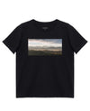 House Print T-Shirt in Black - T-Shirts - INTERMISSION - BRANMA